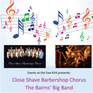 The Bairns Big band with Close Shave Barbershop Ensemble